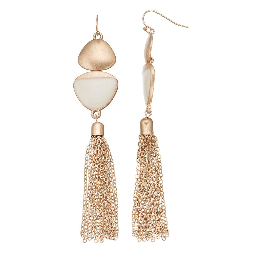 Tassel Nickel Free Drop Earrings