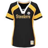 Plus Size Majestic Pittsburgh Steelers Draft Me Tee
