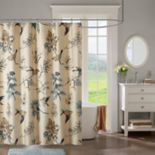 Madison Park Pierce Printed Shower Curtain