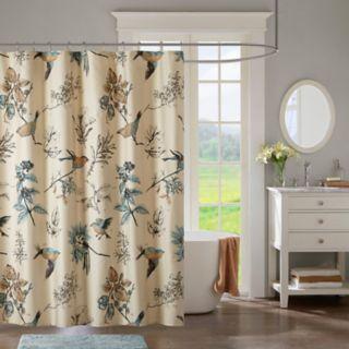 Madison Park Pierce Printed Shower Curtain