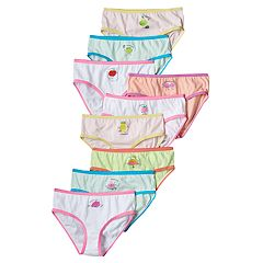 Girls 4-14 Maidenform 9 pkDays of the Week Briefs