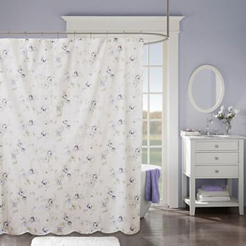 Madison Park Paolina Scalloped Shower Curtain