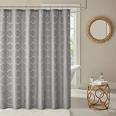 Madison Park Cabot Semi Sheer Shower Curtain