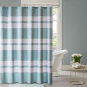 Madison Park Essentials Aria Printed Shower Curtain