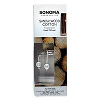 SONOMA Goods for Life™ Sandalwood Cotton Reed Diffuser 11 pc Set