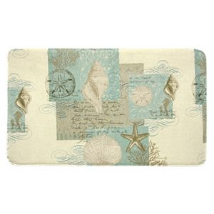 Bacova Coastal Moonlight Bath Rug