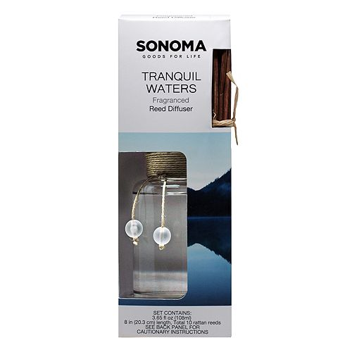 SONOMA Goods for Life™ Tranquil Waters Reed Diffuser 11-piece Set