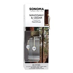 SONOMA Goods for Life™ Mahogany & Cedar Reed Diffuser 11-piece Set