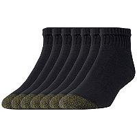 Men's GOLDTOE 6-pack + 1 Bonus Cushioned Quarter Socks