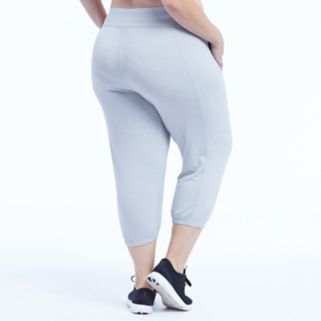 Plus Size Marika Curves Effortless Jogger Capris
