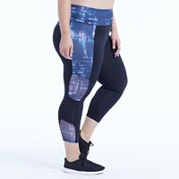 Plus Size Marika Curves Breakthrough Capri Leggings