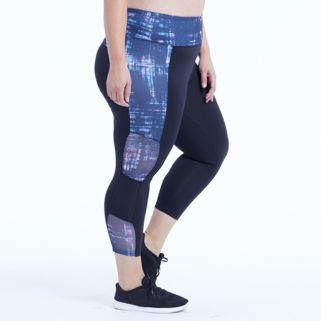Plus Size Marika Curves Breakthrough Capri Leggings