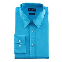 Men's Nick Dunn Modern-Fit Stretch Performance Dress Shirt