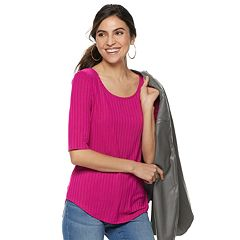 eebc969ea43b38 Women s Apt. 9® Essential Elbow-Sleeve Tee