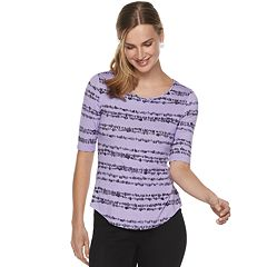 e63384b3ee10a Women s Apt. 9® Essential Elbow-Sleeve Tee