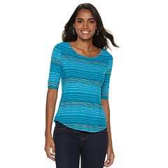 98552282473ff Women s Apt. 9® Essential Elbow-Sleeve Tee