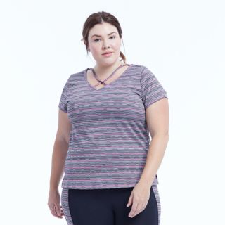 Plus Size Marika Curves Marathon Short Sleeve Tee