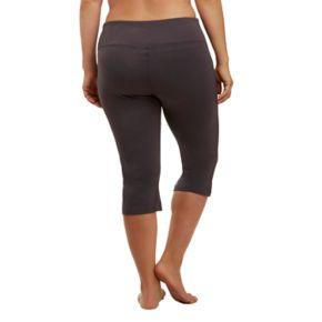 Plus Size Marika Curves High-Waisted Tummy Control Capri Leggings