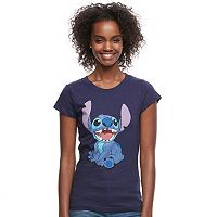 Disney's Lilo & Stitch Juniors' Stitch Graphic Tee