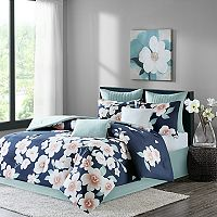 Madison Park 7 pc Grace Duvet Cover Set