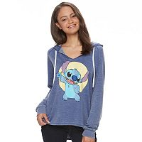 Disney's Lilo & Stitch Juniors' Graphic Long Sleeve Hoodie