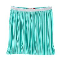 Girls 7-16 SO® Metallic Micro Pleated Skirt