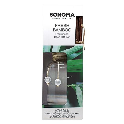 SONOMA Goods for Life™ Fresh Bamboo Reed Diffuser 11-piece Set
