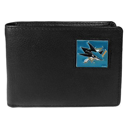 Men's San Jose Sharks Bifold Wallet