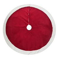 St. Nicholas Square® Red Knit Christmas Tree Skirt
