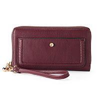 LC Lauren Conrad Rue Zip-Around Wallet