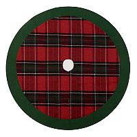 St. Nicholas Square® Plaid Christmas Tree Skirt