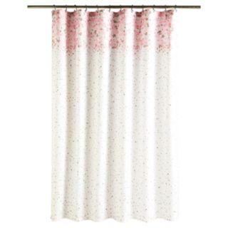 LC Lauren Conrad Confetti Shower Curtain