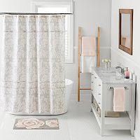 LC Lauren Conrad Pale Blossom Shower Curtain