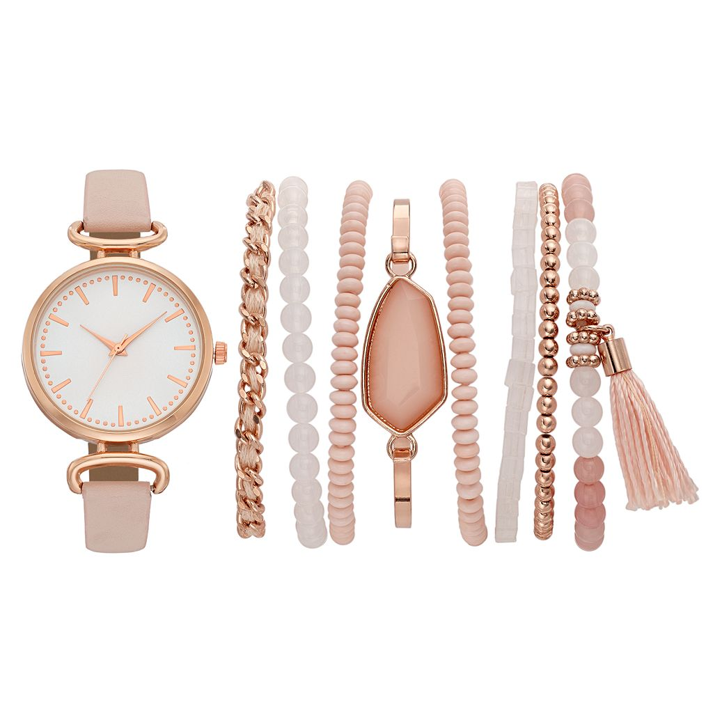 Women's Watch & Bracelet Set