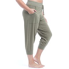 Plus Size Balance Collection Banded Cuff Luna Jogger Pants
