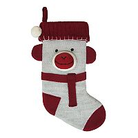 St. Nicholas Square® Knit Monkey Christmas Stocking
