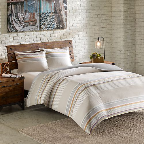 INK+IVY 3-piece Rowan Duvet Cover Set