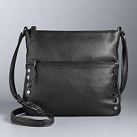Simply Vera Vera Wang Baxter Studded Crossbody Bag