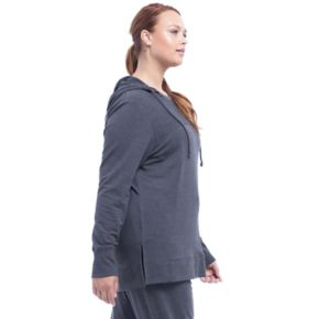 Plus Size Balance Collection Piper Poncho Hoodie