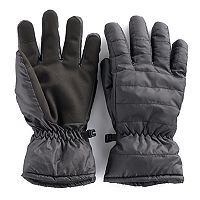 Men's Apt. 9® Thermolite Quilted Touchscreen Gloves