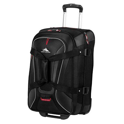 High Sierra AT7 22-Inch Rolling Duffel Bag & Backpack