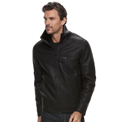Men's Marc Anthony Slim-Fit Faux-Fur Jacket