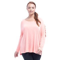 Plus Size Balance Collection Mercy Cross-Strap Top