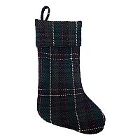 St. Nicholas Square® Wool Plaid Christmas Stocking