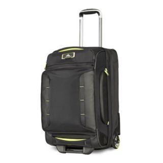 High Sierra AT8 22-Inch Drop-Bottom Rolling Duffel Bag