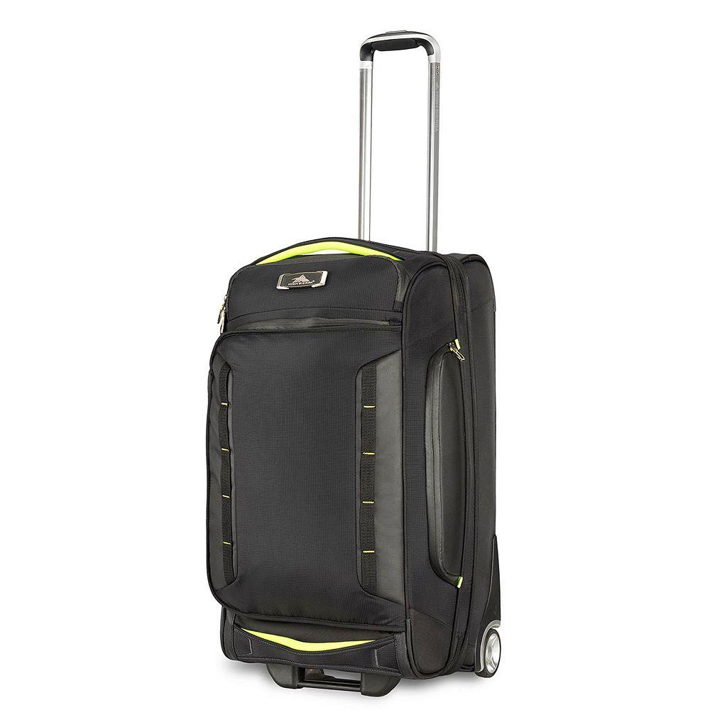 High Sierra AT8 26-Inch Drop-Bottom Rolling Duffel Bag