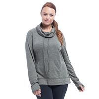 Plus Size Balance Collection Carmel Cozy Cowlneck Sweatshirt