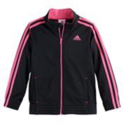 Girls 4-6x adidas Warm-Up Tricot Lightweight Jacket