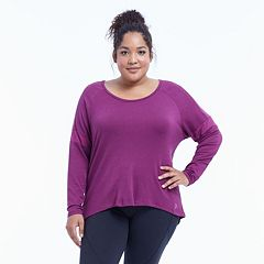 Plus Size Balance Collection Keyhole Top