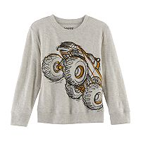 Toddler Boy Jumping Beans® Monster Truck Graphic Pullover Top